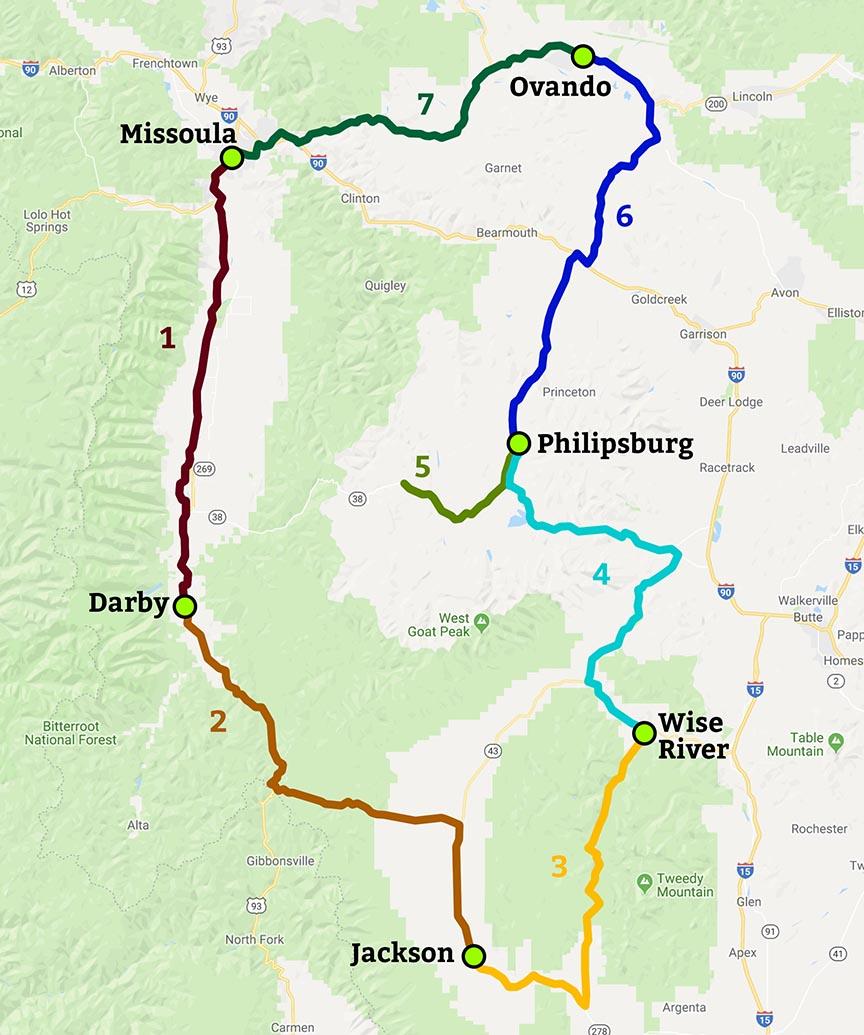 Brnw Bicycle Rides Northwest Montana Bike Tour 2019